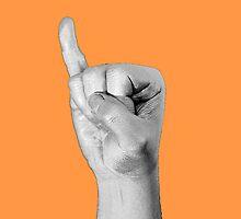 silver code: I (iPhone) - orange by vagnerwhitehead