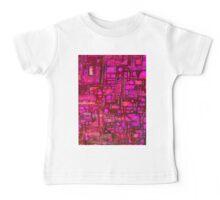 Tshirt - Hot Pink Maze Baby Tee