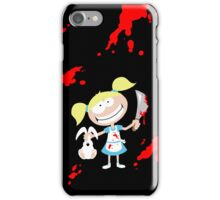 Psycho Girl - Black iPhone Case/Skin