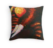Lava Monster Throw Pillow