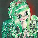 """Holly"" ~ Holiday Angel I by AngelArtiste"