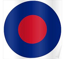 Royal Air Force Low Visibility Roundel Poster