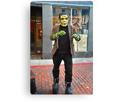 Frankenstein (well not the real one) Canvas Print