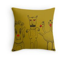 From the Attic of Forgotten Gods Throw Pillow