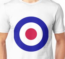 Roundel of the Royal Air Force Unisex T-Shirt