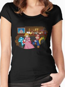 How I met your Princess Women's Fitted Scoop T-Shirt