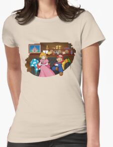 How I met your Princess Womens Fitted T-Shirt