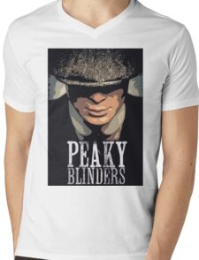 Peaky Blinders Mens V-Neck T-Shirt