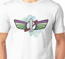 Buzz Lightyear, coat of Star Command Unisex T-Shirt