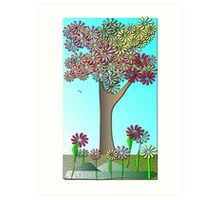Spring colours....... Art Print