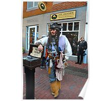 Captain Jack Sparrow (not the real one) too bad... Poster