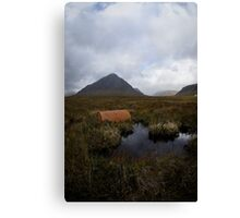 The Scottish Highlands No.8 - Abandoned Canvas Print
