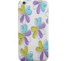 Purple Flower Power iPhone 4s Case iPhone Case/Skin