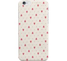 Pink Hearts iPhone 4 Case iPhone Case/Skin