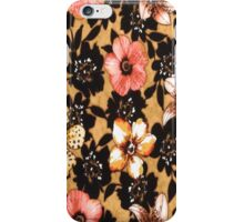 Floral Silhouette iPhone 4s Case iPhone Case/Skin