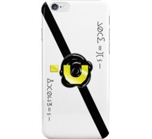 The Doctor's Calling Card iPhone Case/Skin