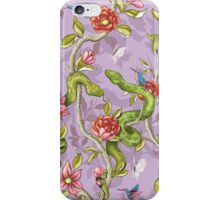 Morning Song - lavender iPhone Case/Skin