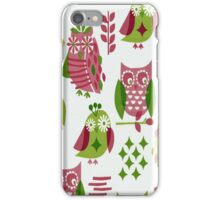 Colorful Owls iPhone 4 & 4s Case iPhone Case/Skin