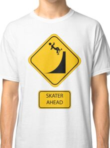 Skater Ahead Classic T-Shirt
