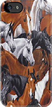 Band Of Horses iPhone 4 & 4s Case by purplesensation