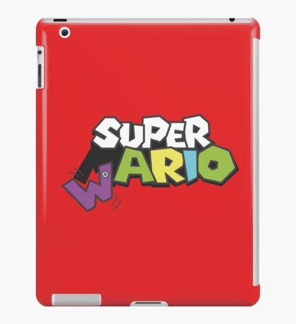 Wario Vs Super Mario iPad Case/Skin