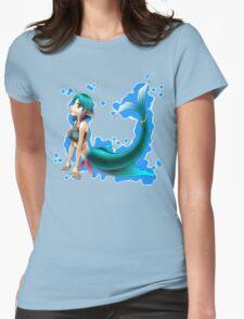 Pollux Mermaid (Plain) Womens Fitted T-Shirt