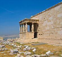 The Porch of the Caryatids by Dean Cunningham