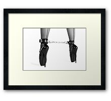 Ballet Shoes Framed Print
