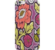 Lush Floral Silhouettes iPhone 4 & 4s Case iPhone Case/Skin