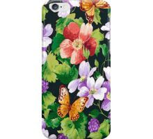 Flowers Butterflies  iPhone 4 & 4s Case iPhone Case/Skin
