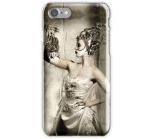 Silk, from the Black Cat & Poisoned Tea Society iPhone Case/Skin