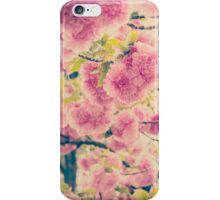 Dreamy Pink Pompom Blossoms of Yaezakura Cherry iPhone Case/Skin