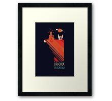 Hollow Halloween - Dracula Framed Print