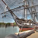 USS Constitution aka Old Ironsides by Jack DiMaio