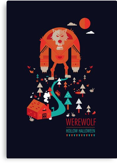 Hollow Halloween - Werewolf by Petros Afshar