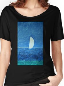 Ghost Sail  Women's Relaxed Fit T-Shirt