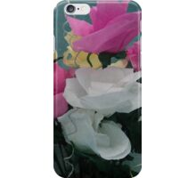 handmade flowers and wire-a try for phone iPhone Case/Skin