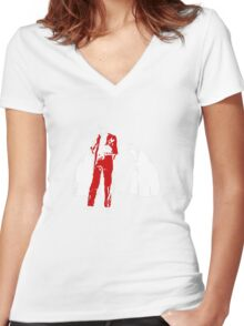 Richard Pryor Live on the Sunset Strip Women's Fitted V-Neck T-Shirt