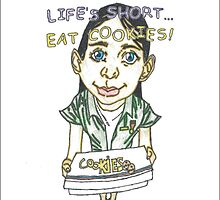 Life Short, Eat Cookies Animation by Arron Tillman