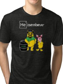 Heisenbear and Pigman Tri-blend T-Shirt