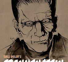 Boris Karloff's Frankensteins by mepol