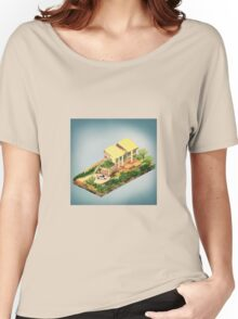 Architecture - The Stratford Manor Women's Relaxed Fit T-Shirt