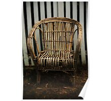 Cane Chair Poster