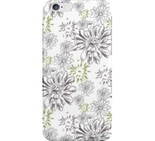 Chrysanthemum Pattern 1 iPhone Case/Skin