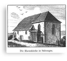 Georg Lilie Salzungen Husenkirche Canvas Print