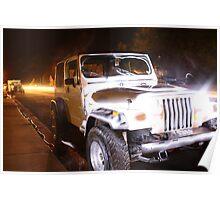 Jeep Light Poster