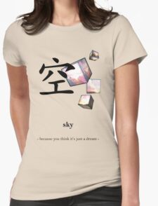 Sky (1) Womens Fitted T-Shirt