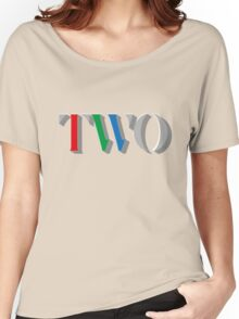 BBC TWO Women's Relaxed Fit T-Shirt
