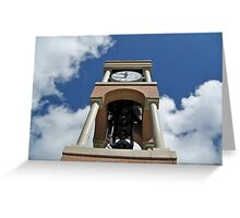 Clock tower Greeting Card
