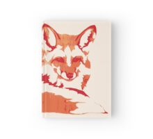 Fire Foxy Hardcover Journal